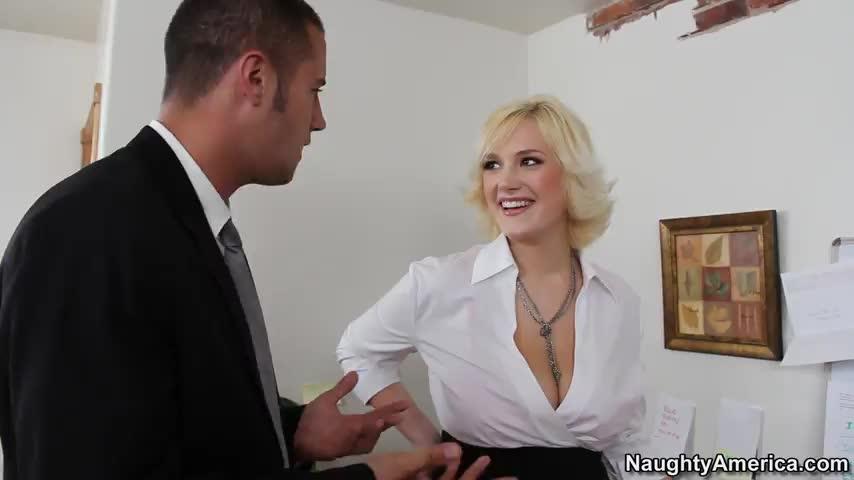 Porno bangbros busty office video