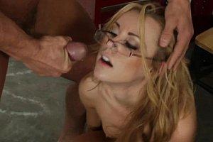 Blonde multiple orgasms